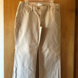 "GAP Dark Tan Trouser "" Favorite Khakis""😎"